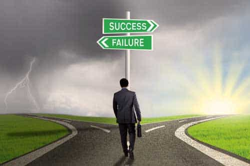 Success or Failure in Business
