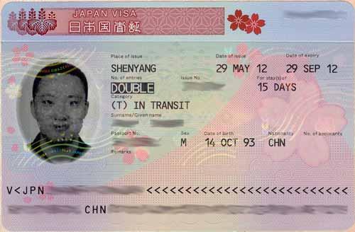 certified visa translation