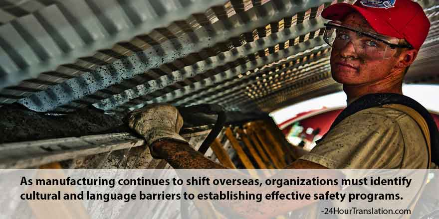 Reinforcing Global Workplace Health and Safety