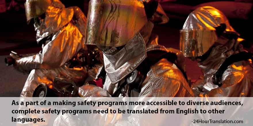 Translating Safety Training Programs