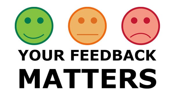 Provide Us With Feedback & Win Some Prizes