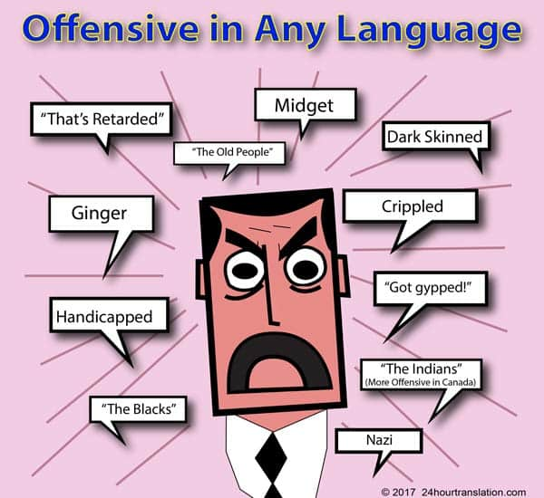 Offensive In Any Language 24 Hour Translation Services