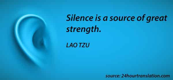 Silence: Strategic Business Communication Tool