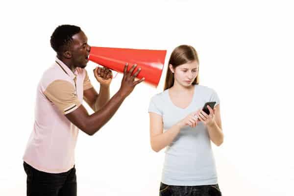 transmit message; communicate message