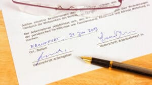 Certified Contract Translation