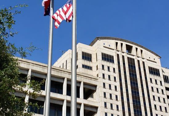 Harris county courthouse on Houston, Texas where legal translators are often required.  Common types of certified documents include birth certificates, marriage licenses. divorce decrees, adoption decrees and more.  Some of the most common languages spoke in the Houston, Katy, Sugar Land and The Woodlands include Spanish, Vietnamese, Chinese. Arabic, French and Portuguese.
